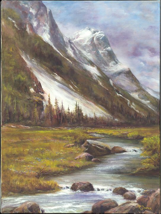 Mountainside Brook - Randy Draper