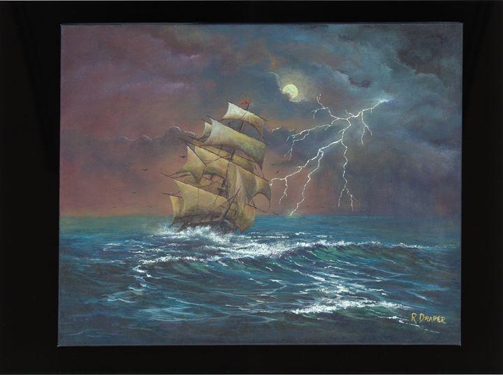 Stormy Sea - Randy Draper
