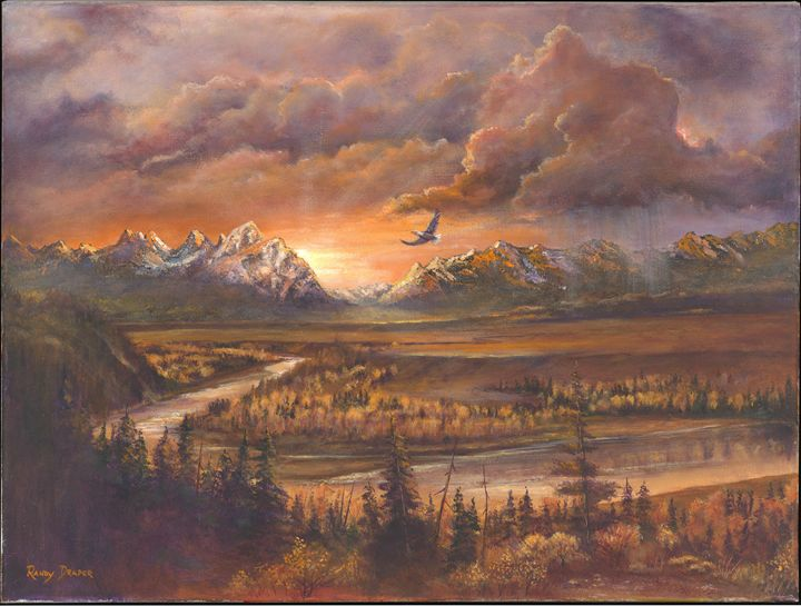 Teton Sunset - Randy Draper