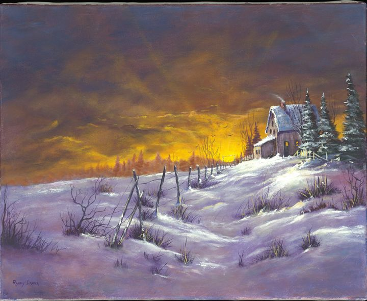 Winter Dawn - Randy Draper