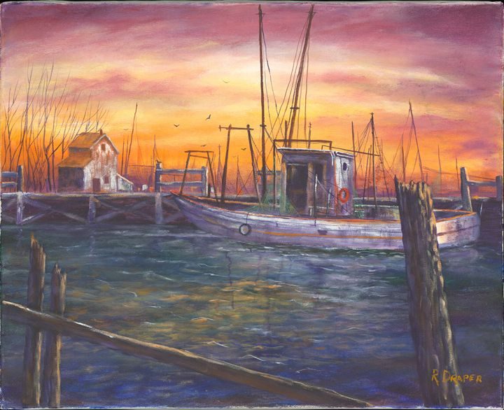 Harbor Sunset - Randy Draper