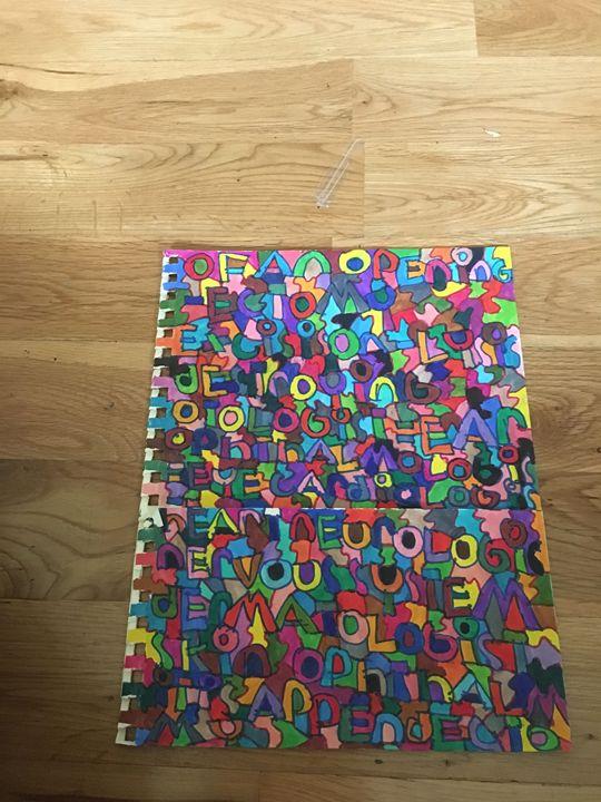 Shapes folder - Shapes of color