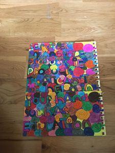 Spiral alphabet