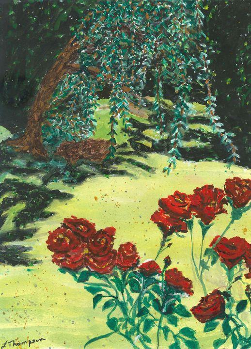 Gracie - Cavalier  Always remembered - Fine Art by Loraine Allison Thompson