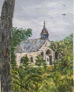 Abandoned But Still Holy Coatopa AL - Fine Art by Loraine Allison Thompson
