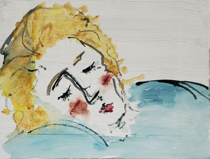 Woman Dreaming - Joanna Dehn Beresford