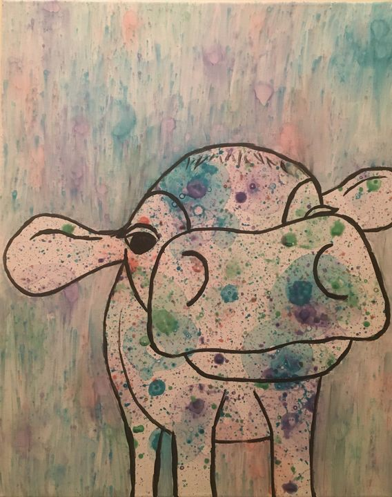 Bubble Cow - Sarah Bolyard