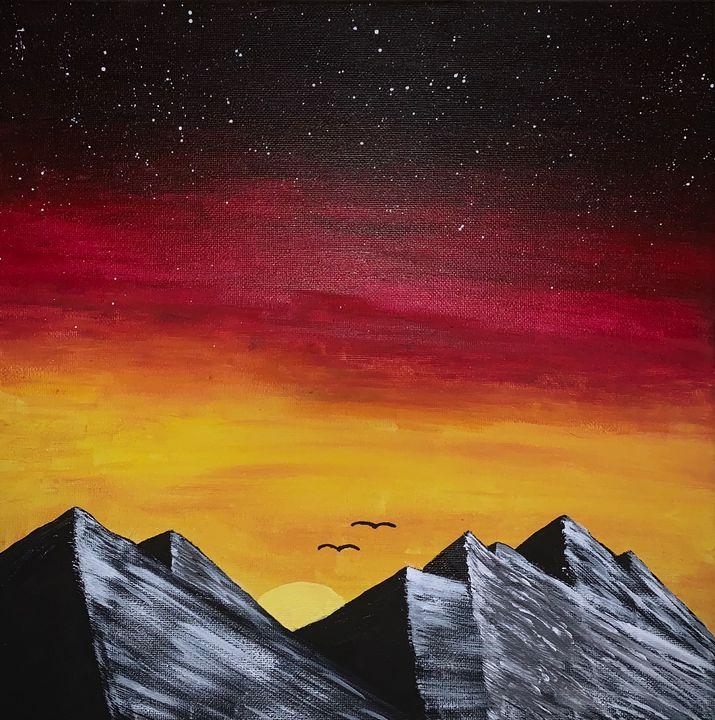 Sunset mountains - Sarah Bolyard
