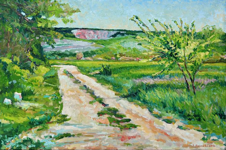 Field road -  Deniscroart
