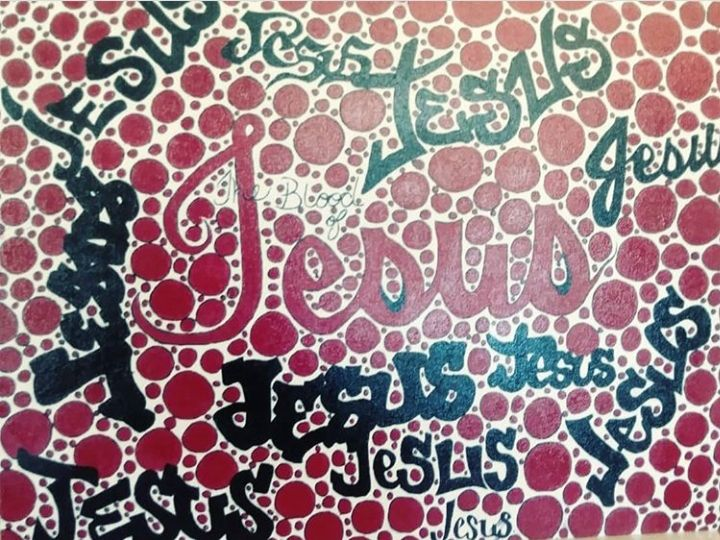 The Blood of Jesus - Art of mazes
