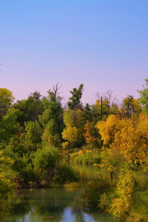 Fall on the river - 56th Street Photo