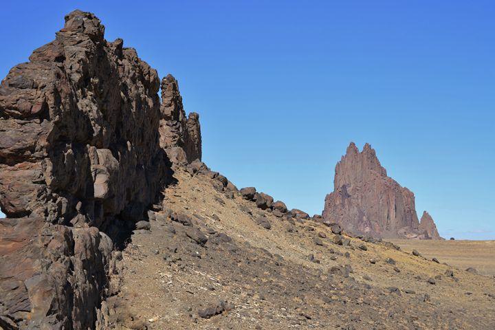 Shiprock, New Mexico - 56th Street Photo