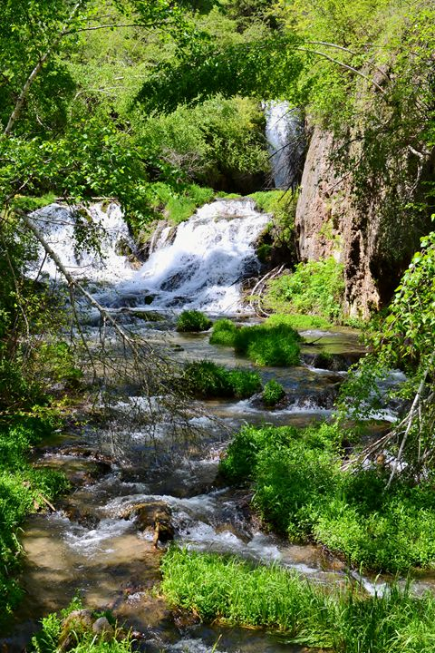 Spearfish Falls, South Dakota - 56th Street Photo
