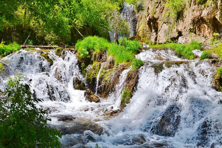 Spearfish Falls, Black Hills - 56th Street Photo