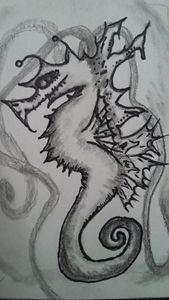 Dire Seahorse
