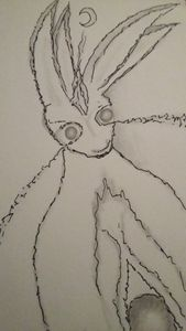 Ethereal Hare in Graphite