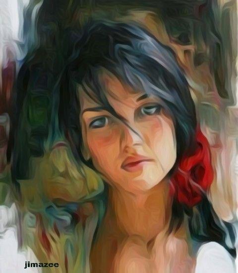 Fine woman - JIMAZEE ART