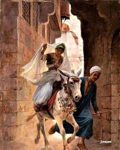 The riding princess