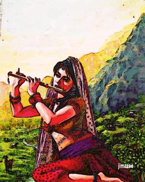Indian flute - JIMAZEE ART