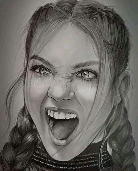 The screamed - JIMAZEE ART