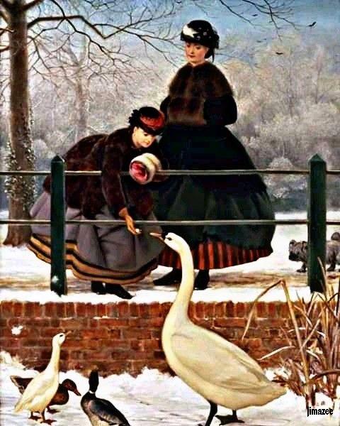 The ducks - JIMAZEE ART