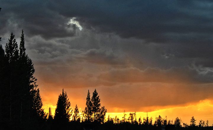 Stormy Sunset Skies - Mistyck Moon Creations Gallery