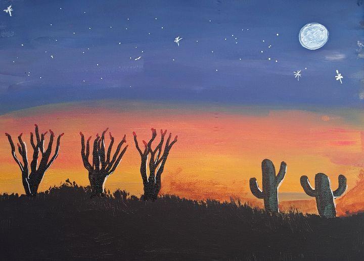 Desert Sunset - Mistyck Moon's Turmoil Of The Mind