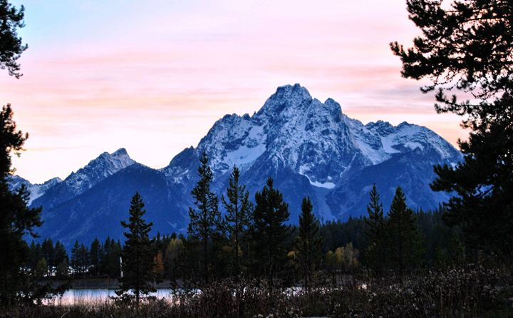 Grand Tetons Sunset - Mistyck Moon Creations Gallery