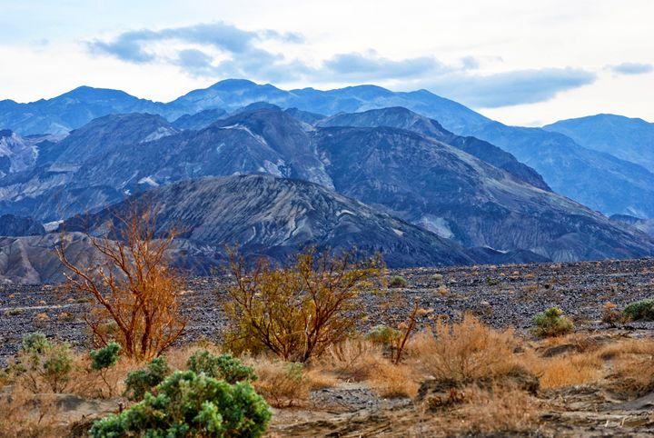Death Valley Landscape - Mistyck Moon's Turmoil Of The Mind