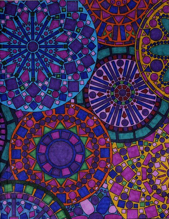 Aztec Wheels - Mistyck Moon's Turmoil Of The Mind