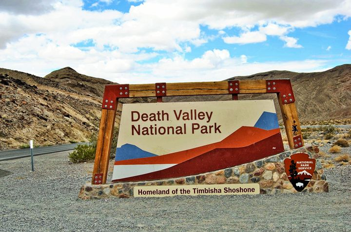 Welcome To Death Valley National Pak - Mistyck Moon Creations Gallery