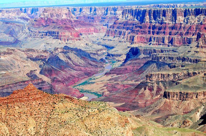 Canyon Mesas - Mistyck Moon's Turmoil Of The Mind