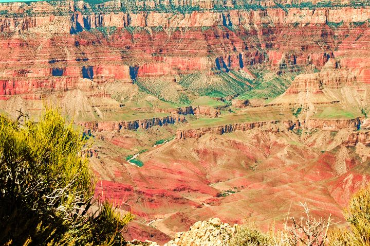 Colors Of The Grand Canyon - Mistyck Moon's Turmoil Of The Mind