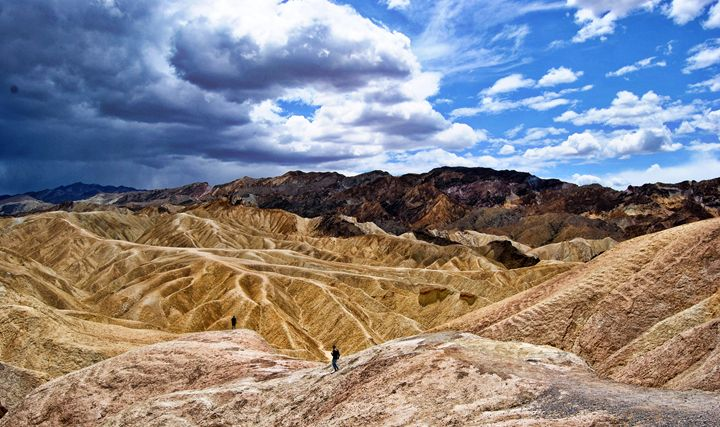 View at Zabriskie's Point - Mistyck Moon Creations Gallery