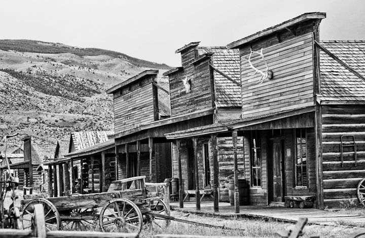 Old Trail Town Museum - Mistyck Moon's Turmoil Of The Mind