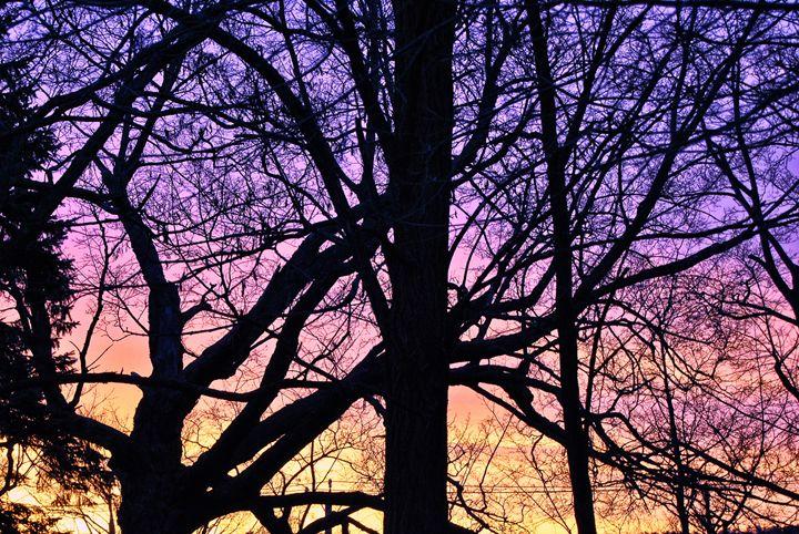 Purple Sunrise - Mistyck Moon's Turmoil Of The Mind