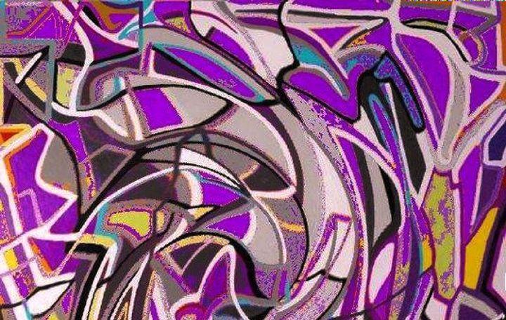 Purple Haze - Mistyck Moon's Turmoil Of The Mind