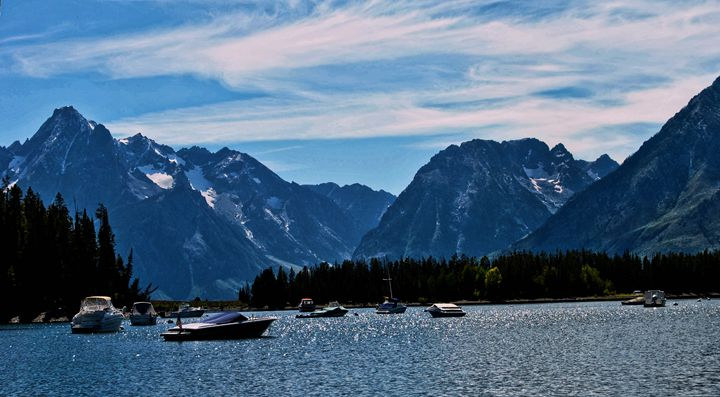 Leeks Marina In Grand Tetons - Mistyck Moon Creations Gallery