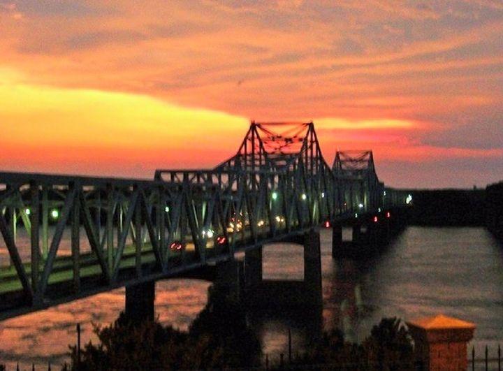 Mississippi River Bridge - Mistyck Moon's Turmoil Of The Mind