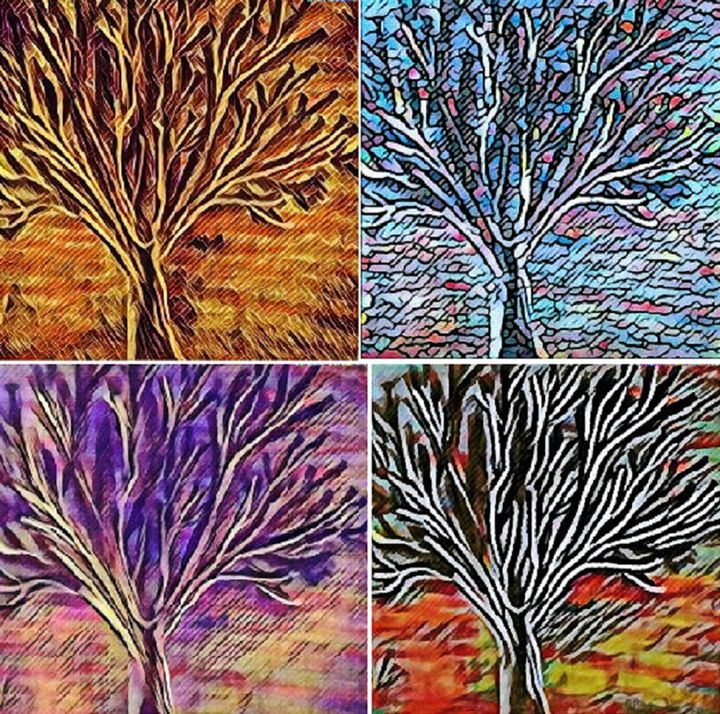 Four Seasons - Mistyck Moon's Turmoil Of The Mind