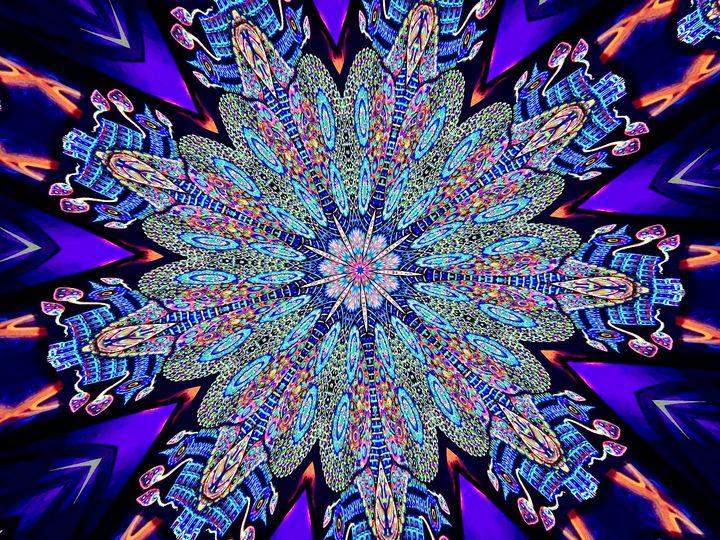 Purple Sunshine - Mistyck Moon's Turmoil Of The Mind