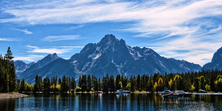 Grand Tetons By Leeks Marina - Mistyck Moon's Turmoil Of The Mind