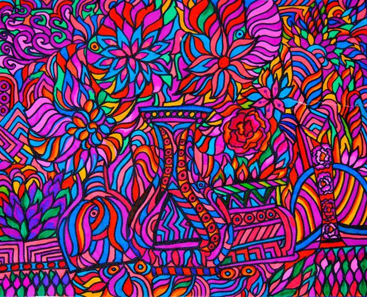 Bouquet Vases - Mistyck Moon's Turmoil Of The Mind