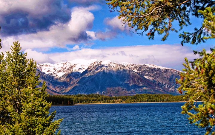 Lake Mountain Views - Mistyck Moon's Turmoil Of The Mind