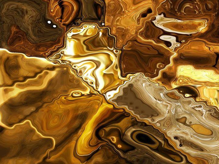 Golden Desert - Mistyck Moon's Turmoil Of The Mind