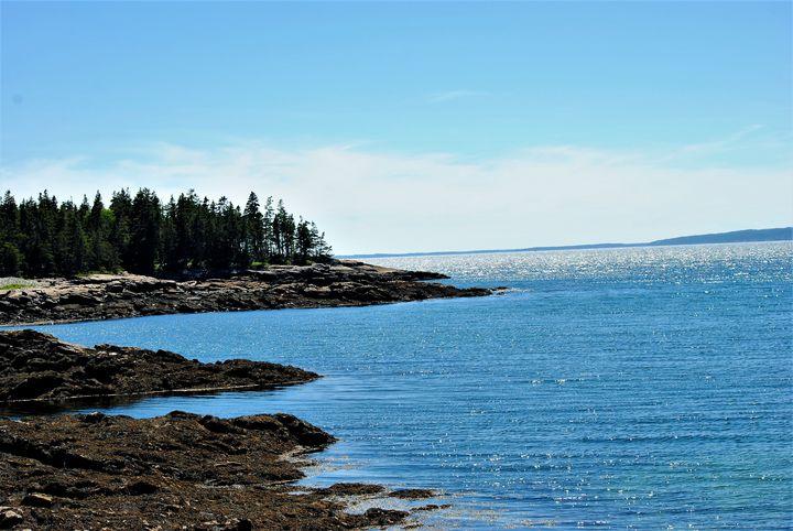 Frazer Point Schoodic Peninsula 15 - Mistyck Moon's Turmoil Of The Mind