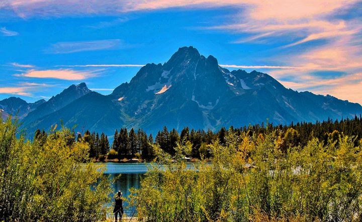 The Grand Tetons by Colter Bay - Mistyck Moon's Turmoil Of The Mind