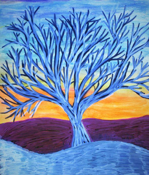 Winter Landscape - Mistyck Moon's Turmoil Of The Mind