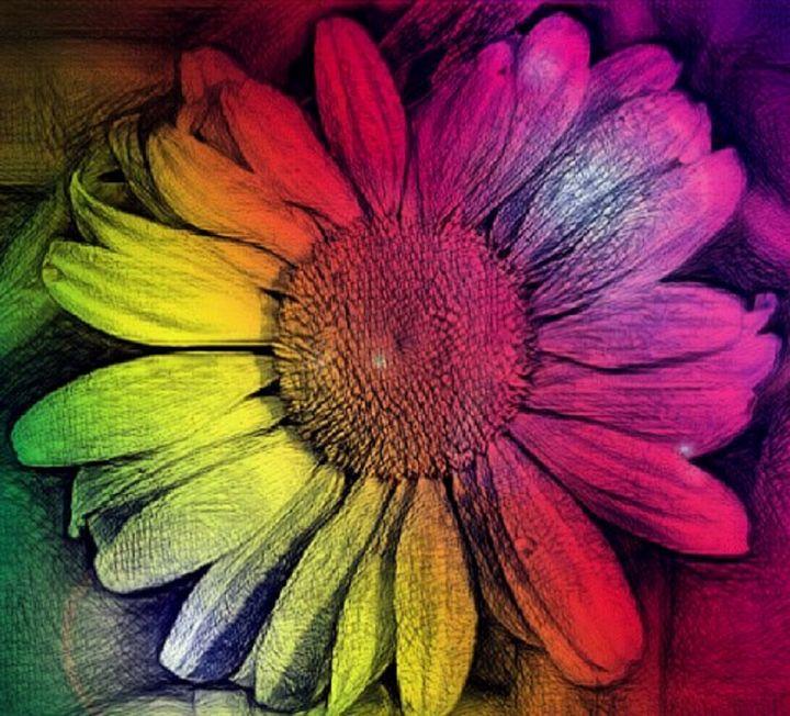 Rainbow Flower - Mistyck Moon's Turmoil Of The Mind