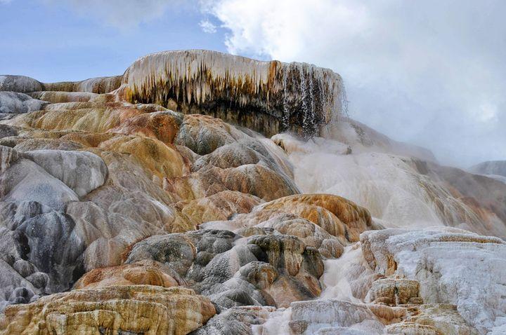 Mammoth Hot Springs- Yellowstone - Mistyck Moon Creations Gallery